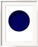 Blue Disk, c.1957 (IKB54) Posters by Yves Klein
