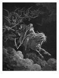 Vision of Death Giclee-trykk av Gustave Doré