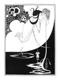 Wilde: Salome Lámina giclée por Aubrey Beardsley