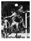 England: Soccer Match, 1977 Reproduction procédé giclée