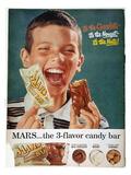Mars Bar Ad, 1957 Giclée-vedos