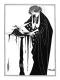 Wilde: Salome Reproduction procédé giclée par Aubrey Beardsley