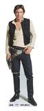 Han Solo Silhouettes découpées en carton