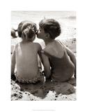 Seaside Romance Impressão giclée