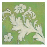 Green Flourish Kunstdruck von Hope Smith