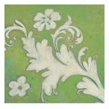 Green Flourish Poster di Hope Smith
