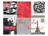 Parlez-Vous Francais Giclée-Premiumdruck von Cameron Duprais