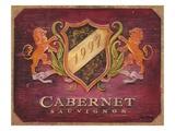 Cabernet Label Affischer av Angela Staehling