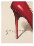 Red Stiletto Premium Giclee Print by Marco Fabiano