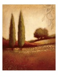 Crimson Dusk Posters by Edward Raymes