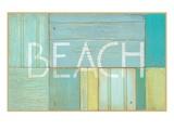 浜辺の標識 高画質プリント : Z・ステュディオ