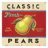 Classic Pears Posters av Angela Staehling