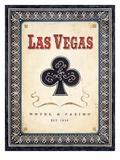 Las Vegas Club Affischer av Angela Staehling