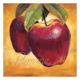 Luscious Apples Premium Giclee Print by Marco Fabiano