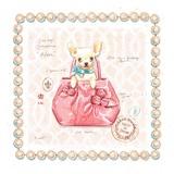 Chihuahua Puppy Purse Kunstdrucke von Chad Barrett