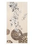 Pagoda Blossoms 1 Premium Giclee-trykk av Bella Dos Santos
