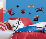 Spiderman - Ultimate Spiderman Peel & Stick Wall Decals Autocollant mural