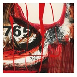 Abstract Numerals Affischer av Natasha Barnes