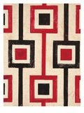 Square Textile Poster von Hope Smith