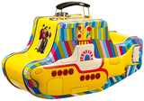 The Beatles - Yellow Submarine Embossed Tin Lunch Box Lunch Box