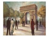 Paris Crowds Posters af Marc Taylor