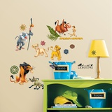 The Lion King Peel & Stick Wall Decals Wallstickers