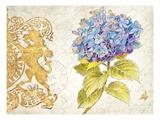 Scripted Hydrangea Kunstdrucke von Chad Barrett