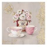 Set for Tea Kunstdrucke von Stefania Ferri