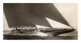 J Class Sailboat, 1934 Poster von Edwin Levick