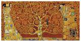 Tree of Life (red variation) Posters tekijänä Gustav Klimt