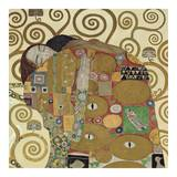 The Embrace (detail) Posters by Gustav Klimt