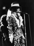 Prince Sings in Concert, 1984 Reproduction photographique par Vandell Cobb