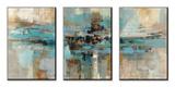Morning Fjord Kunstdrucke von Silvia Vassileva