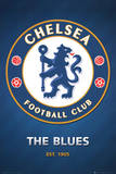 Chelsea FC Club Crest Poster