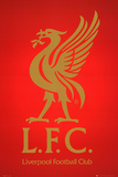 Liverpool FC Club Crest Plakater