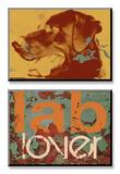 Labrador Print van Mj Lew