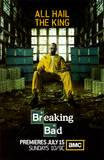 Breaking bad, affiche de la sérietélé créée par Vince Gilligan Affiche originale