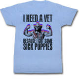 Macho Man - Sick Puppies T-Shirt