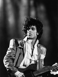 Prince, Concert Performance, 1984 Photo Photographic Print by Vandell Cobb