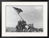 Flag Raising on Iwo Jima, c.1945 Prints by Joe Rosenthal