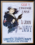 Gee!! I Wish I Were a Man, c.1918 Posters por Howard Chandler Christy