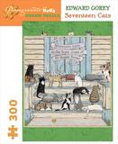 Gorey/Seventeen Cats 300 Piece Puzzle Quebra-cabeça