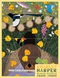 Charley Harper Block Puzzle Quebra-cabeça