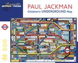 Children'S Underground Map 500 Piece Puzzle Quebra-cabeça