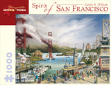 Spirit Of San Francisco 1000 Piece Puzzle Jigsaw Puzzle