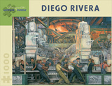 Diego Rivera 1000 Piece Puzzle Quebra-cabeça