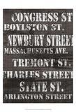 Streets of Boston I Plakater av Andrea James