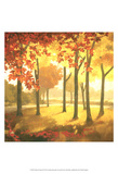 Golden October II Plakater av Graham Reynolds