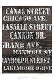 Streets of Chicago II Posters av Andrea James