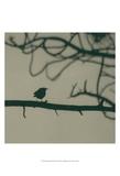Caligraphy Bird II Prints by Elena Ray